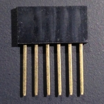 Long-tail 6-pin headers