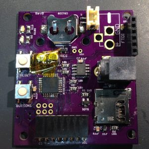 The underlying board without the ArduCAM module installed.